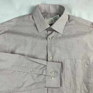 Calvin Klein Dress Shirt Regular-Fit Geometri